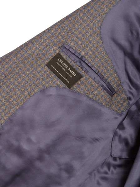Chester Barrie Gingham Flannel Jacket