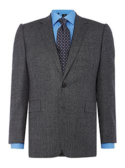 Milled Birdseye Grey Albermarle Suit