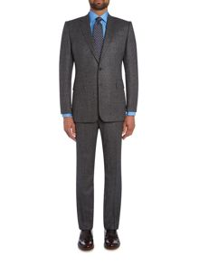 Chester Barrie Milled Birdseye Grey Albermarle Suit