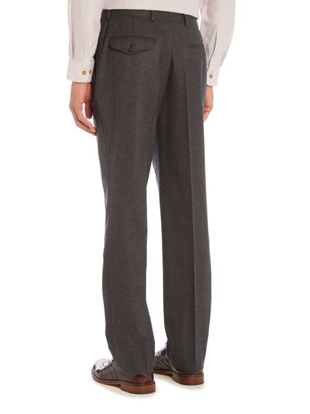 Chester Barrie Grey Flannel Trousers