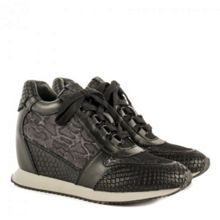Ash Dream leather wedge trainers
