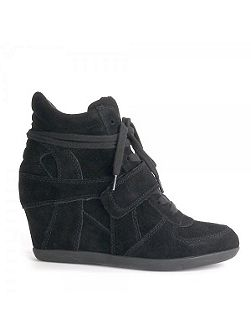 Ash bowie suede high-top wedge trainers