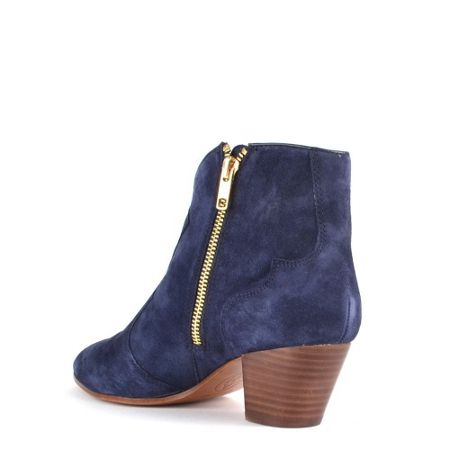 Ash Hurrican suede heeled ankle boots