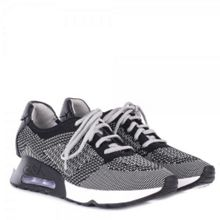 Ash Lucky Knit Leather Trainers