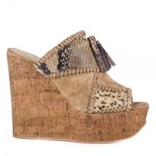 Ash Blondie bis wedge sandals