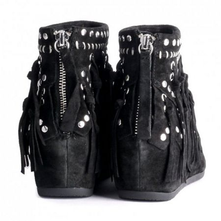 Ash Spirit fringed ankle boots