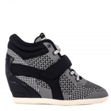 Ash Bebop wedge trainers