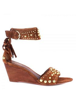 Dido leather sandals