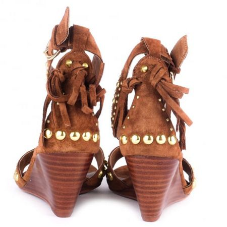 Ash Dido leather sandals
