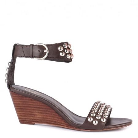 Ash Dune wedge leather sandals