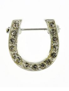 Indulgence Jewellery horseshoe brooch