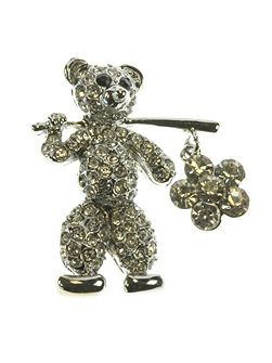 Teddy Brooch