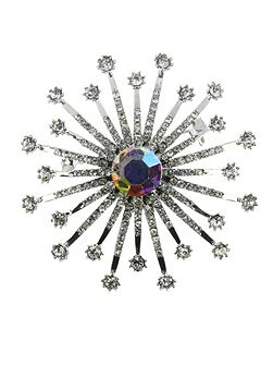 Indulgence sunbeam brooch