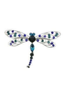 Indulgence Jewellery dragonfly brooch