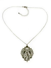 Indulgence Jewellery Indulgence intricate filligree pendant