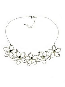Indulgence Jewellery Indulgence wire flower necklace