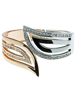 Indulgence two tone Bangle