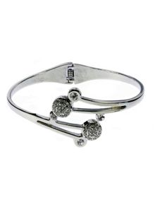 Indulgence Jewellery Indulgence shiny bangle with crystals