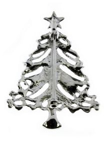 Indulgence Jewellery Indulgence Christmas Tree brooch