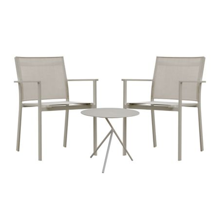 Cozy Bay Verona aluminium & textilene 2 seater tea for two