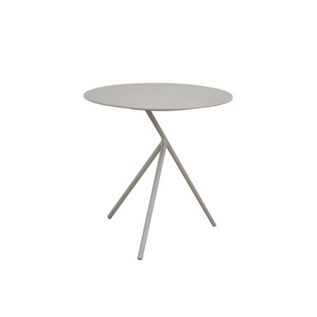 Cozy Bay Verona aluminium large 3 legged side table in lig
