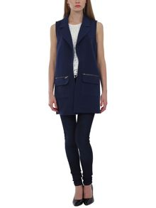 Urban Bliss Elka longline sleeveless gilet