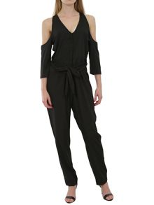 Urban Bliss Cold shoulder jumpsuit