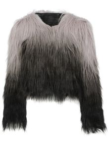 Urban Bliss Shaggy faux fur jacket