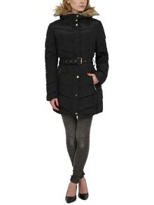 Quilted 3/4 winters coat