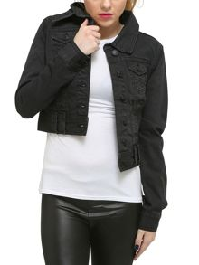 Urban Bliss Black Denim Jacket