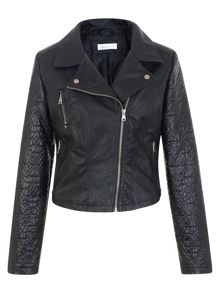 Urban Bliss Melinda Quilted Sleeve Biker