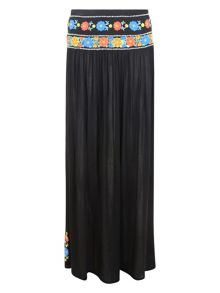 Linda Embroidered Maxi Skirt