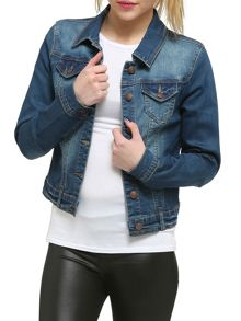 Urban Bliss Stretch Denim Jacket