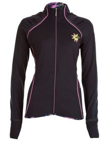 Elle Sport Hi-Neck Sculpted Performance Jacket