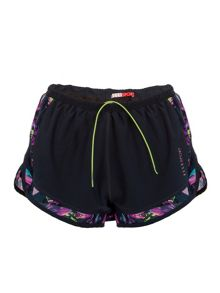 Elle Sport Woven Double Layer Short