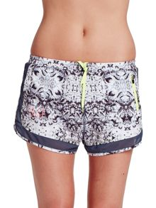 Elle Sport Printed Woven Short With Inner Pant
