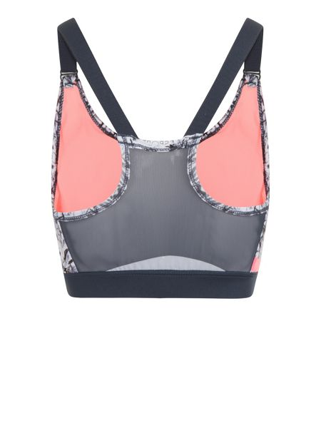 Elle Sport Strappy Racerback Removable Cup Bra Top