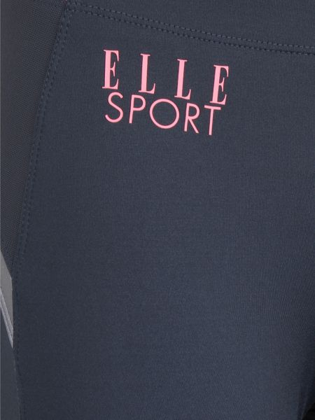 Elle Sport 2 Tone Mesh Panel Sport Tight With Print Ankle