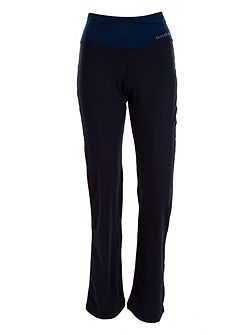 Elle Sport Straight Leg High Waisted Trouser