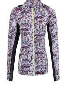 Elle Sport Lightweight Woven Hooded Running Jacket