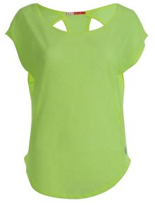 Apple Sours Super Sheer Cutout Tee