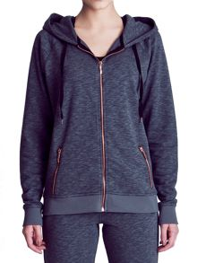 Elle Sport Fleck Deep Cuff Hooded Jacket