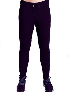 Elle Sport Easy Slouch Low-Rise Zip Pant
