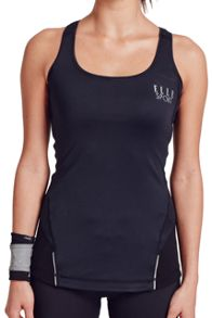 Elle Sport Sleek Mesh Panelled Support Top