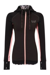 Elle Sport Colour Block Hooded Jacket