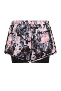 Elle Sport Printed Woven Short With Inner Capri