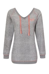 Elle Sport Textured Croc V-Top