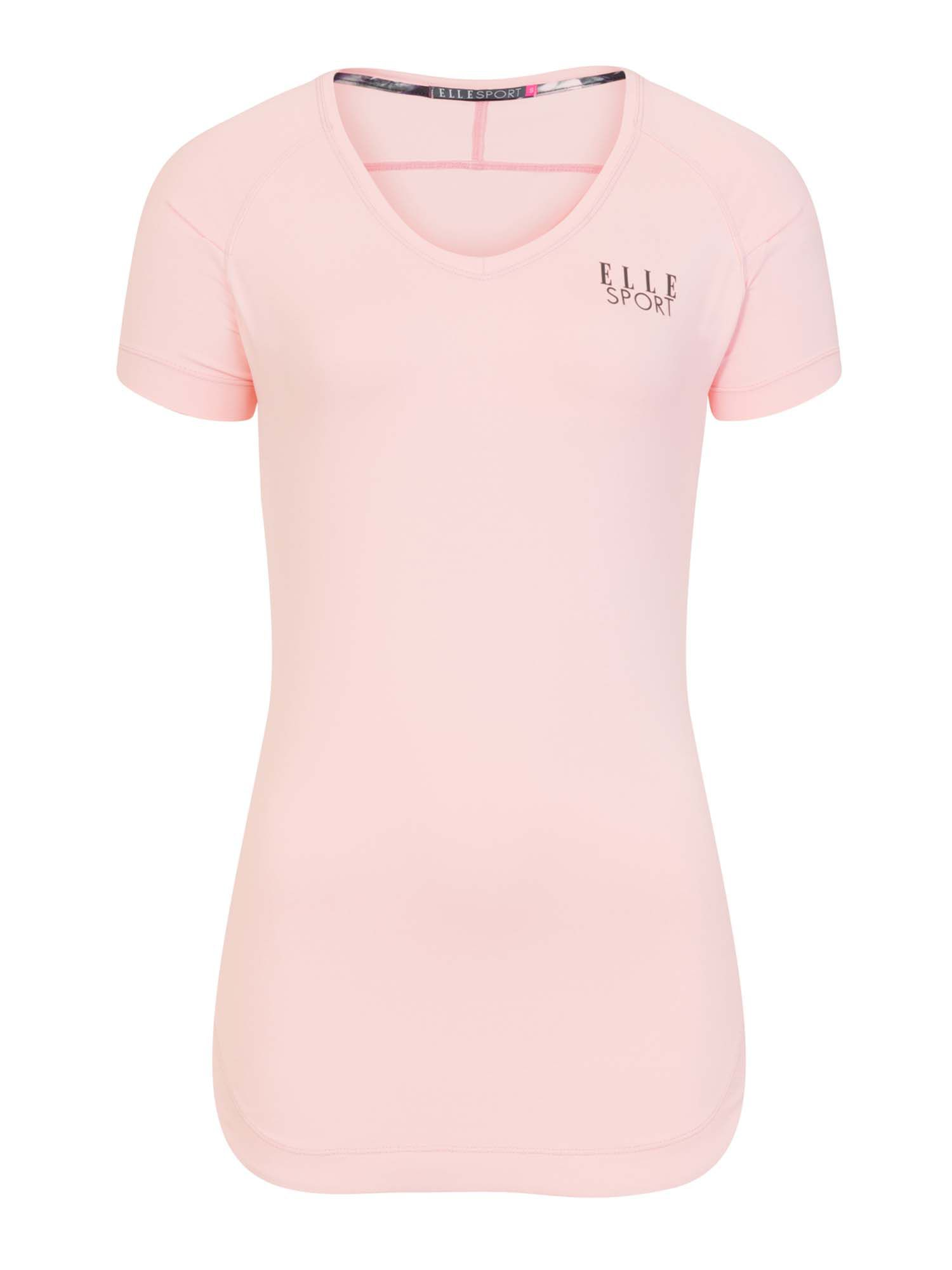 Elle Sport Styled Overlayering Tee, Pink