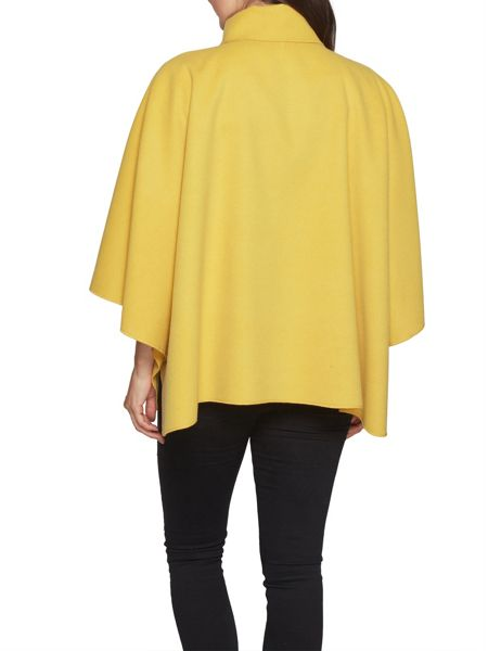 David Barry Faux Cashmere Cape