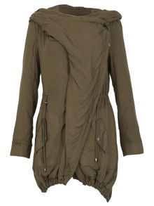 David Barry Waterfall Parka Casual Jacket